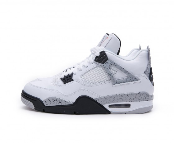 air jordan 4 white cement - 1