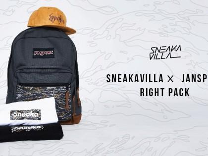 SneakaVilla x Jansport Right Pack Signature Series