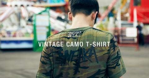 Vintage camo t-shirt2