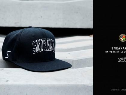 SneakaVilla University Logo Snapback