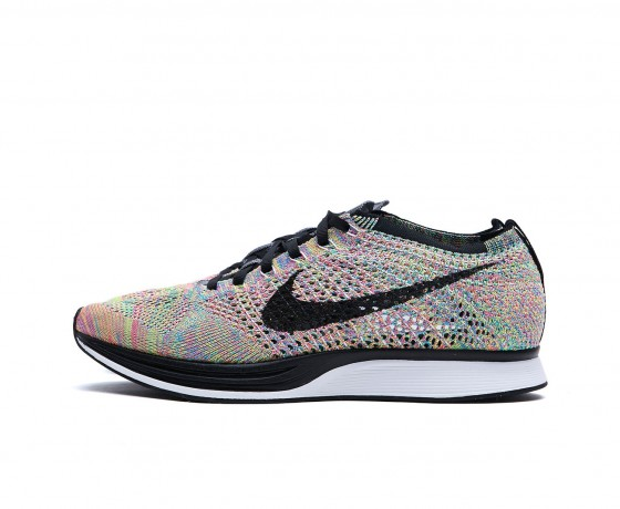 Nike Multicolored Flyknit Racer - 1