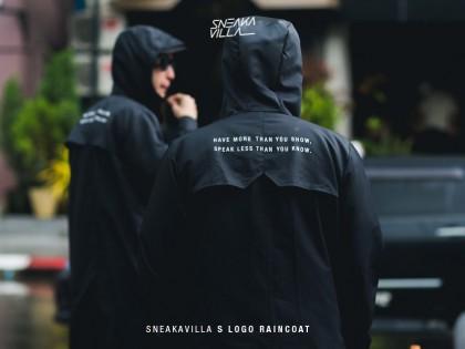 SneakaVilla S Logo Raincoat' with MAKE YOU FREAK