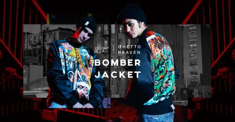 Ghetto heaven - varsity jacket FB@ 2
