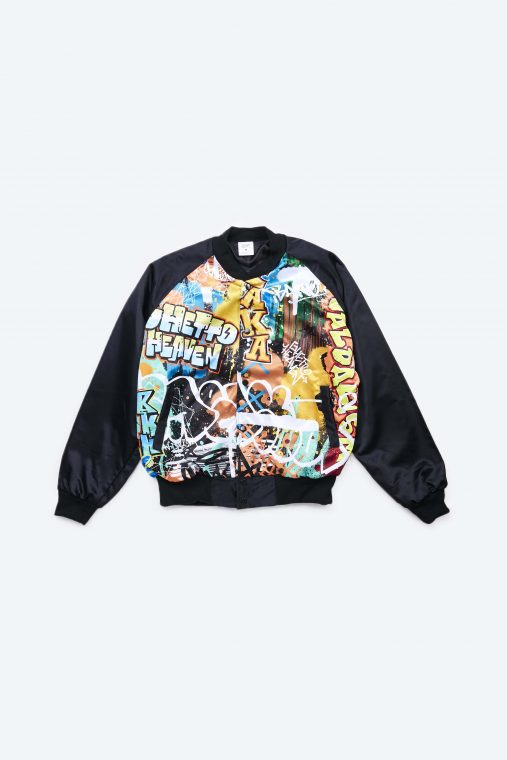 Graffiti bomber jacket - 1